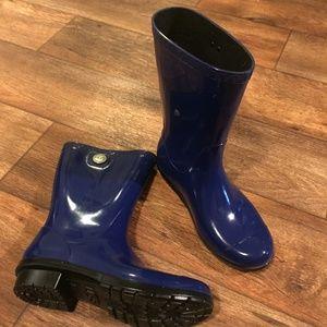 Ugg Sienna Rainboot Blue 6